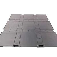 供应扣槽网络地板01-常州防静电全钢地板