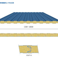 湖北科利供应节能保温板材 岩棉板 间隔板