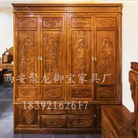 西安仿古/红木/实木/榆木衣柜