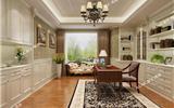 对于护墙板你知道多少?挑选优质护墙保护爱家-美式客厅护墙板效果图