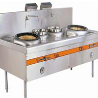 广东厨房设备厂家直销 节能双头炒炉哪家好