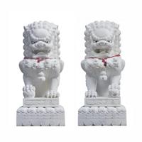 中国石狮雕刻的特色-曲阳汇艺达雕塑
