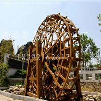 西安脚踏式/景观/防腐木/室内水车