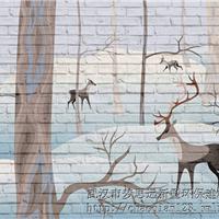 3D背景墙 浮雕背景墙 梦思远背景墙系列产品