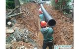 """西山区棕树营完成排水管网改造 800余户居民告别""""污水横流""""-排水管"""