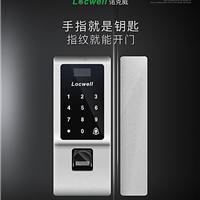 深圳指纹锁厂家直供玻璃指纹密码锁