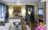 50平方小户型完美变身温馨之家, 客厅隔断真是点睛之笔!-隔断屏风
