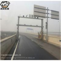 道路限高架自动升降限高架公路升降式限高架