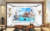 10较炫酷的3D电视背景墙, 非同寻常的艺术和体验-3d背景墙
