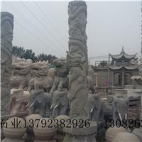 低价销售石龙柱石雕文化柱