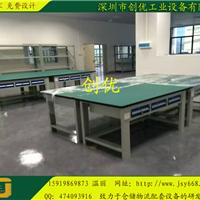 1.2米台钻桌、小型仪器桌、钢木结构钳工桌