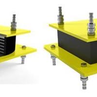 供应易德利牌HDR高阻尼隔震橡胶支座型号全