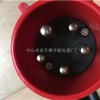橡胶线插头5*2.5平方工业插头