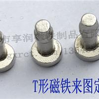 厂家直销N35钕铁硼凹凸形磁铁带T型磁铁