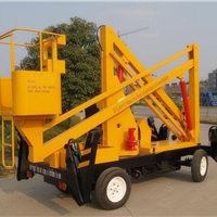 上海长宁12米固定式升降平台包月出租