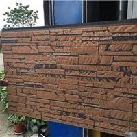 长条石纹金属雕花板 外墙保温隔热 耐腐蚀