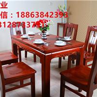 烟台莱阳实木餐桌 水曲柳餐桌 橡木餐桌