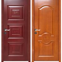 胡桃木实木门强化门免漆门艺术白门烤漆门