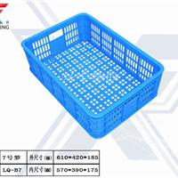 泉州兴丰7号塑胶框塑料周转箩运输筐水果箩