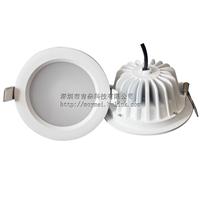 防潮筒灯配件2835板鱼尾筒灯灯壳3.5寸单头