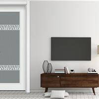 豪迈木门YS7107简欧室内套装门房间门环保木制玻璃门
