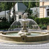 供应石雕喷泉水池 花岗岩喷泉摆件 水钵喷泉