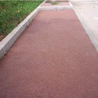 宁夏新型生态景观材料透水混凝土地坪施工