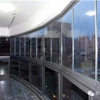 枫景阳台 无框窗