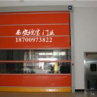 西安快速门堆积门PVC折叠门