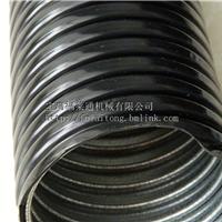 PVC包塑金属护线管  DN100黑色蛇皮管