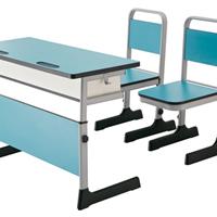 课桌椅 学生单双人课桌椅 培训辅导班桌椅