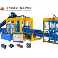 哈文QT10-15全自动混凝土砌块成型机