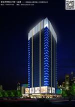 办公楼建筑外墙灯光设计,办公楼照明方案
