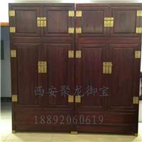 西安 仿古衣柜 红木衣柜 实木衣柜 榆木衣柜