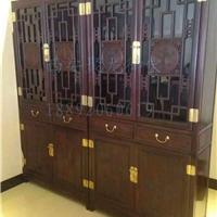 西安 仿古书柜 红木书柜 榆木书柜 实木书柜