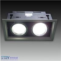 LED双头射灯2*7W 1.5H全功率