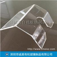 有机玻璃折弯转动设备挡板 仪器机器透明盖