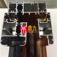 六安断桥窗纱一体窗型材结构图片
