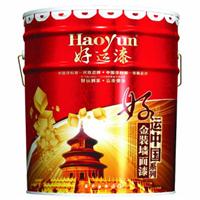 好运中国金装墙面乳胶漆调色配方
