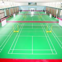 朝阳PVC羽毛球地板建设
