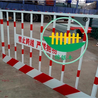 锌钢材质 银丰护栏 锦银丰护栏 新乡护栏厂家 基坑安全护栏