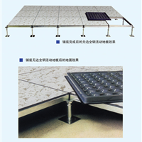 防静电地板批发价格 延安全钢防静电地板 架空地板质量