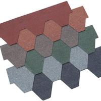 沥青瓦片 玻纤瓦片 屋面装饰美观