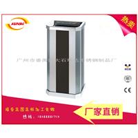 斜角座地烟灰桶 不锈钢靠墙式垃圾桶果皮箱