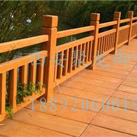 西安 防腐木护栏 防腐木围栏 防腐木栏杆
