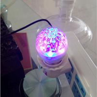 LED灯泡负离子空气净化灯汗蒸房网吧吸烟灯