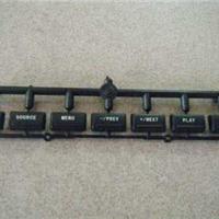 上海松江橡塑按键激光打标、按键透光镭雕