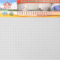 腾飞普天石膏穿孔吸声板二十二孔平面吸音板