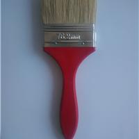 鬃毛,木柄油漆刷。