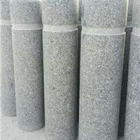 黄石石材挡车柱|石材花瓶柱宝瓶柱|青石圆柱